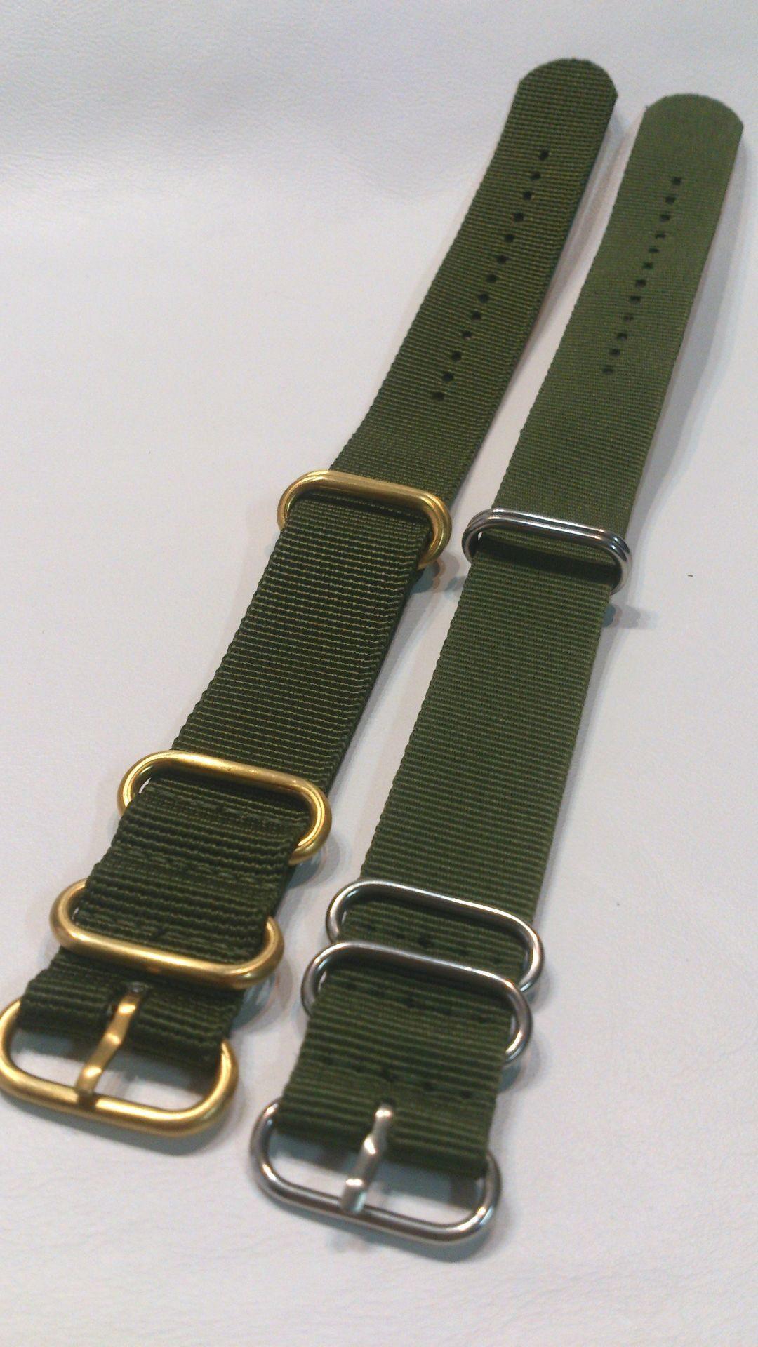 Ремешок для часов своими руками из стропы 10